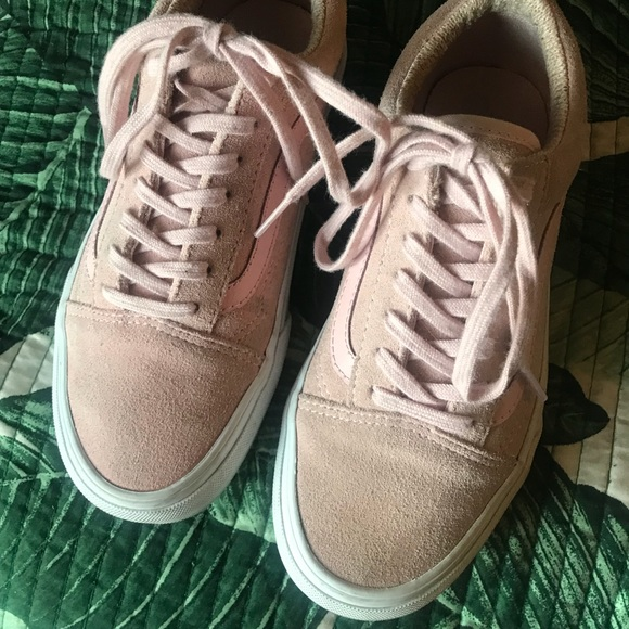857c705525 Vans blush pink suede old skool sneakers women s 6.  M 5acac5903800c59cd96559a8. Other Shoes ...